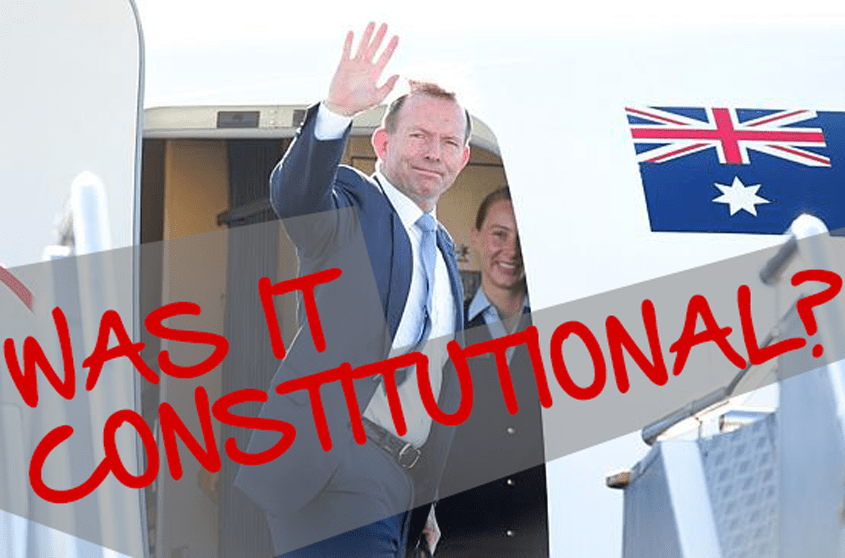Our New Prime Minister: Was It Constitutional?