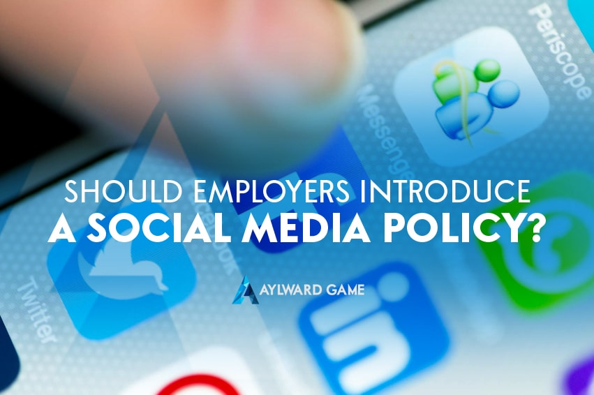 Should Employers Introduce a Social Media Policy?